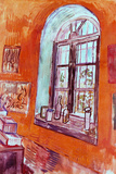 Vincent van Gogh Window of Vincent's Studio at the Asylum Posters by Vincent van Gogh