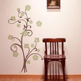 Paradise Branch Celadon Wall Decal Wall Decal