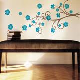 Paradise Branch Blue Wall Decal Adesivo de parede