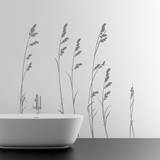 Sea Oats Grey Wall Decal Wall Decal
