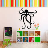 Octopus Black Wall Decal Wall Decal