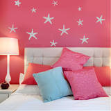 Stunning Starfish, Large Grey Wall Decal Wall Decal