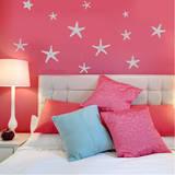 Stunning Starfish, Large Grey Wall Decal Wall Decal
