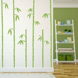 Tall Bamboo Olive Wall Decal Wall Decal