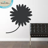 Daisy Doodle Chalkboard Wall Decal Wall Decal