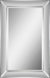 Aubry Rectangular Mirror Wall Mirror by Jonathan Wilner