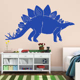 Stegosaurus Blue Wall Decal Wall Decal