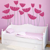 Honey, I Supersized the Flowers Pink Wall Decal Wall Decal