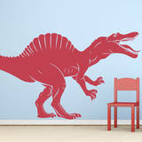Spinosaurus Red Wall Decal Wall Decal