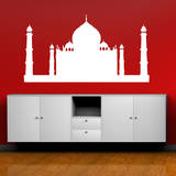 Taj Mahal White Wall Decal Wall Decal