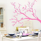For the Birds Bubblegum Wall Decal Wall Decal