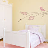 Nostalgic Branch Brown Wall Decal Wall Decal