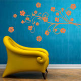 Paradise Branch Persimmon Wall Decal Wall Decal