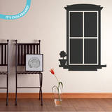 My View Chalkboard Wall Decal Wall Decal