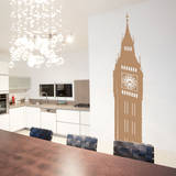 Big Ben Brown Wall Decal Wall Decal