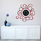 Warmth Red Wall Decal Wall Decal