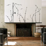 A Top View Black Wall Decal Wall Decal