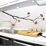 Dogwood Branch Red Wall Decal Wall Decal