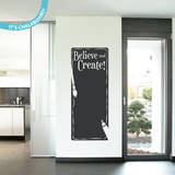 Believe & Create Chalkboard Wall Decal Wall Decal