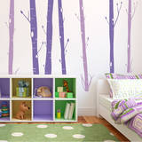 Aspen Woods Violet Wall Decal Wall Decal