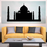 Taj Mahal Black Wall Decal Wall Decal