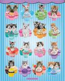 Keith Kimberlin Kittens Cupcakes Posters