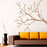 For the Birds Brown Wall Decal Wall Decal