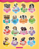 Keith Kimberlin Puppies Cupcakes Posters