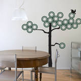 Ring Tree Green Wall Decal Wall Decal