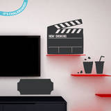 Movie Night Chalkboard Wall Decal Wall Decal