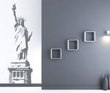 Statue of Liberty Grey Wall Decal Wall Decal