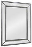 Phoebe Silver Rectangular Mirror Wall Mirror by  Jonathan Wilner/Paul De Bellefeuille