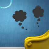 In The Clouds Chalkboard Wall Decal Decalques de parede