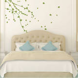 Climbing Ivy Vines Olive Wall Decal Wall Decal