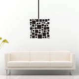 Abstract Square Black Wall Decal Wall Decal