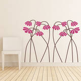 These Aint Mamas Flowers Pink Wall Decal Wall Decal