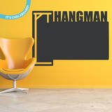 Hangman Chalkboard Wall Decal Wall Decal