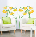 These Aint Mamas Flowers Yellow Wall Decal Wall Decal