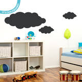 Clouds Chalkboard Wall Decal Decalques de parede