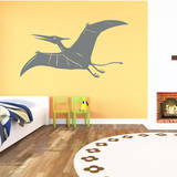 Pterodactyl Grey Wall Decal Wall Decal