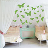 Butterfly Moments Lime Wall Decal Wall Decal
