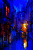 Blue Venice Photographic Print by Steven Boone
