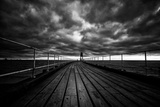 Whitby Pier Photographic Print by Rory Garforth