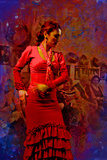 The Flamenco Dancer Photographic Print by Steven Boone