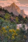 Days End from the Pa' Rus Trail, Zion Reproduction photographique par Vincent James