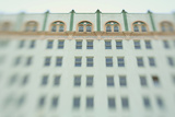 Surreal Shot of a 1920s Seafoam Green Art Deco Building Photographic Print by Jena Ardell