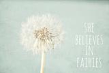 She Believes in Fairies Fotografisk tryk af Susannah Tucker