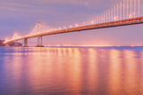 In the Glow of Bay Bridge Lights Photographic Print by Vincent James