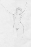 Life Drawing in Pencil Photographic Print by Tim Kahane