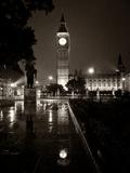 Westminster At Night Fotografisk tryk af Craig Roberts
